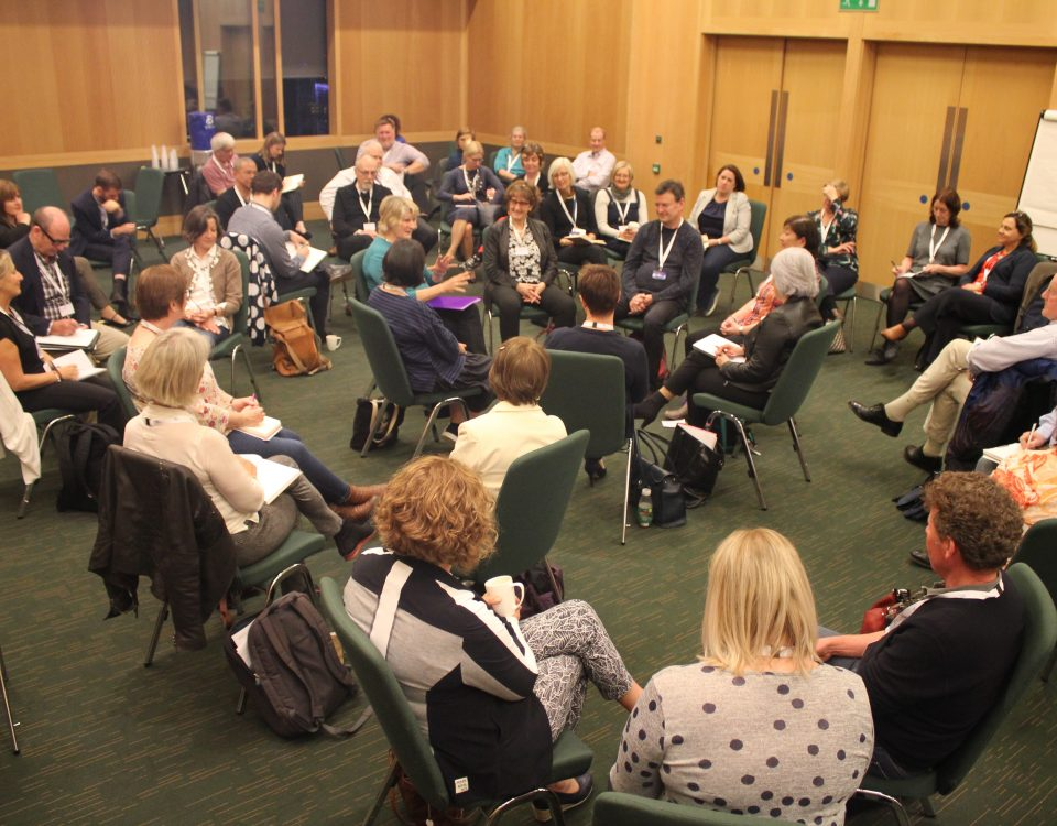 Photo of workshop led by Alison Hodge