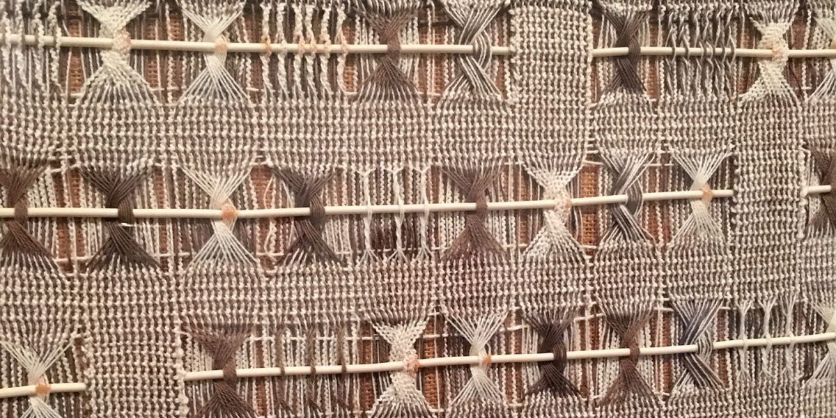 Anni Albers tapestry
